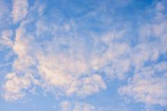 Textura del cielo Fotos de archivo