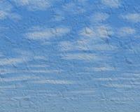 Textura del cielo azul Imágenes de archivo libres de regalías