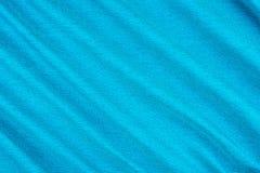 Textura del cierre azul del fondo de la tela para arriba imagenes de archivo