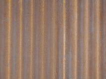 Textura del cinc del color vieja Imagen de archivo