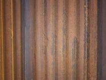 Textura del cinc del color vieja Fotografía de archivo libre de regalías