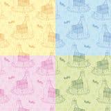 Textura del color de los niños Ilustración del Vector