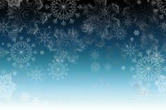 Textura del copo de nieve, fondo del invierno Fotografía de archivo libre de regalías