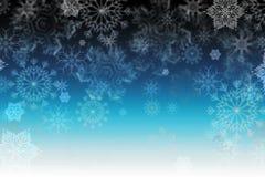 Textura del copo de nieve, fondo del invierno Fotos de archivo
