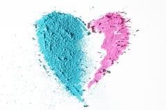 Textura del corazón Imagenes de archivo