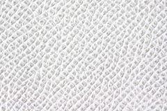 Textura del cuero blanco imagen de archivo libre de regalías