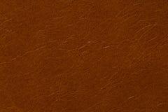 Textura del cuero del contraste en color marrón usual foto de archivo