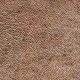 Textura del cuero de Brown Fotografía de archivo