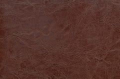 Textura del cuero de Brown como fondo imagenes de archivo