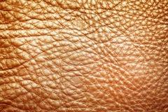 Textura del cuero de Brown como fondo imágenes de archivo libres de regalías