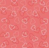 Textura del día de tarjeta del día de San Valentín Imagenes de archivo