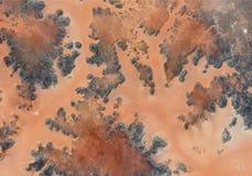 Textura del desierto con las l?neas libre illustration