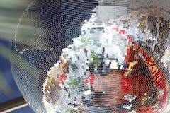 Textura de la bola de discoteca fotos de archivo