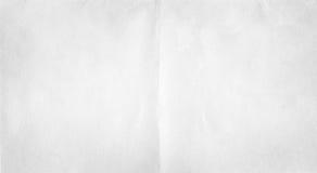 Textura del doblez del Libro Blanco fotografía de archivo libre de regalías