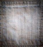 Textura del dril de algodón Imagen de archivo