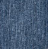 Textura del dril de algodón de los tejanos Fotografía de archivo