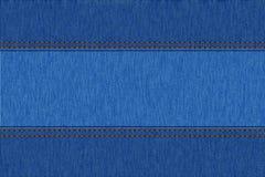 Textura del dril de algodón de los vaqueros Foto de archivo libre de regalías