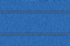 Textura del dril de algodón de los vaqueros Fotos de archivo