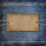 Textura del dril de algodón del fondo Fotos de archivo libres de regalías