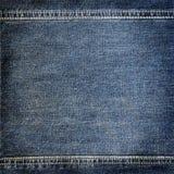 Textura del dril de algodón del fondo Foto de archivo libre de regalías