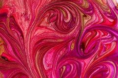 Textura del esmalte de uñas imágenes de archivo libres de regalías