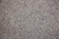 Textura del fieltro del gris Foto de archivo