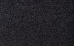 Textura del fieltro del negro Imágenes de archivo libres de regalías