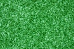 Textura del fieltro del verde Fotografía de archivo