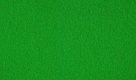 Textura del fieltro del verde Foto de archivo