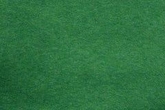 Textura del fieltro del verde Imagen de archivo libre de regalías