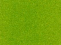 Textura del fieltro del verde Foto de archivo libre de regalías