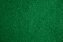 Textura del fieltro del verde Fotos de archivo