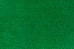 Textura del fieltro del verde para el póker y el casino foto de archivo