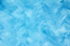 Textura del fondo azul Fotografía de archivo