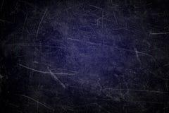 Textura del fondo azul marino con los rasguños Fotografía de archivo libre de regalías