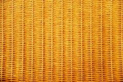 Textura del fondo de la cesta de mimbre Foto de archivo libre de regalías