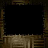 Textura del fondo de la fantasía del marco del rompecabezas/el tejer Fotos de archivo libres de regalías