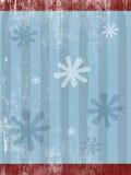 Textura del fondo de la Navidad - azul Imagen de archivo