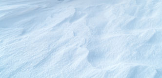 Textura del fondo de la nieve Imagen de archivo