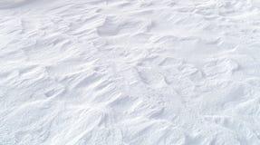 Textura del fondo de la nieve Imagenes de archivo