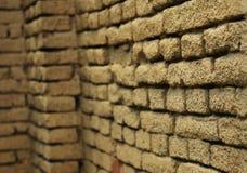 Textura del fondo de la pared de ladrillo Foto de archivo libre de regalías