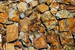 Textura del fondo de la pared de piedra Fotografía de archivo libre de regalías