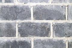 Textura del fondo de la pared del bloque de cemento Foto de archivo libre de regalías