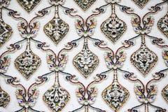 Textura del fondo de la pared del templo Imágenes de archivo libres de regalías