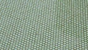 Textura del fondo de la piscina almacen de metraje de vídeo