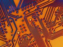 Textura del fondo de la placa madre ilustración del vector