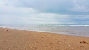 Textura del fondo de la playa y del mar Fotografía de archivo