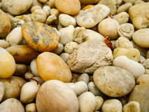 Textura del fondo de la roca de Brown Imagen de archivo