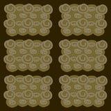 Textura del fondo de las galletas Ilustración del Vector