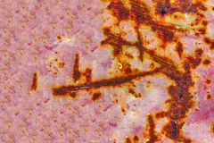 Textura del fondo del acero y del extracto Rusted Fotos de archivo